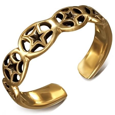 Bronzový prsteň na nohu DAMSON th-bzt019