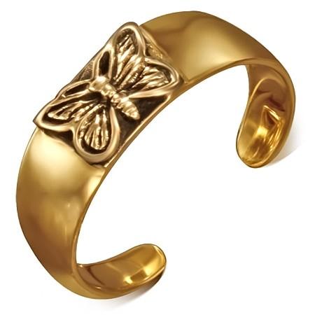 Bronzový prsteň na nohu DAMSON th-bzt004