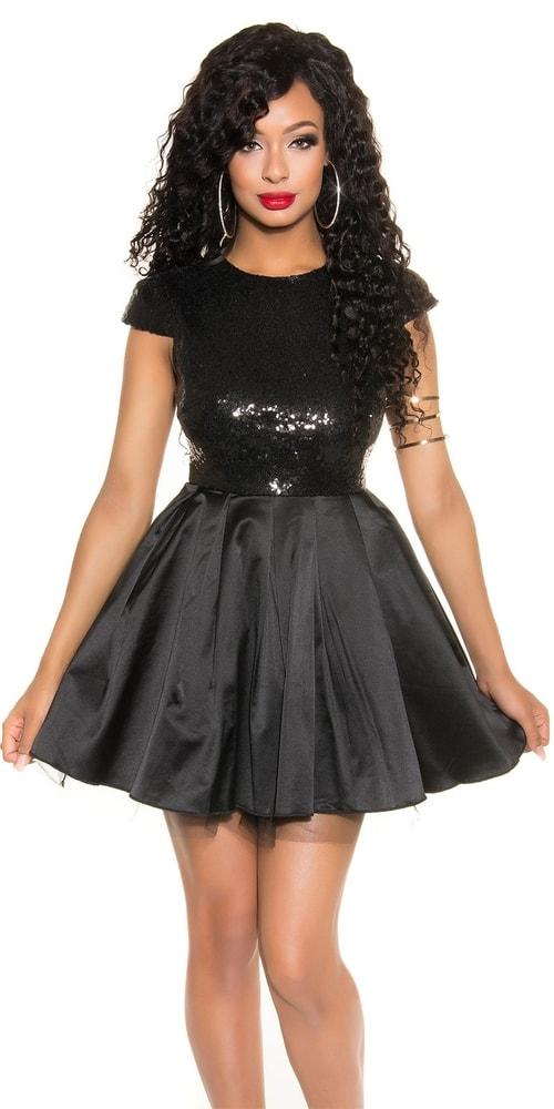 Spoločenské dámske šaty Koucla in-sat1473bl
