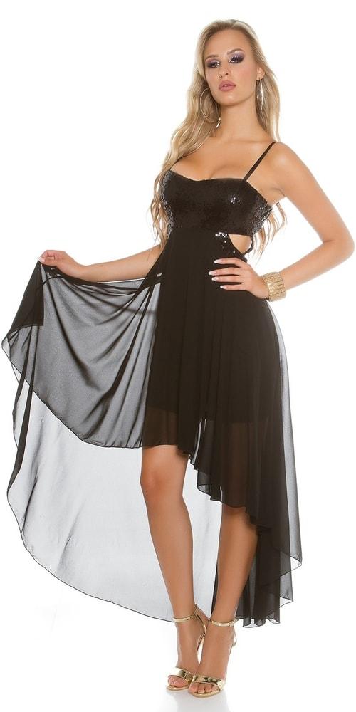 a8fd8694a9d Čierne plesové šaty - Koucla - Večerné šaty a koktejlové šaty - vasa ...
