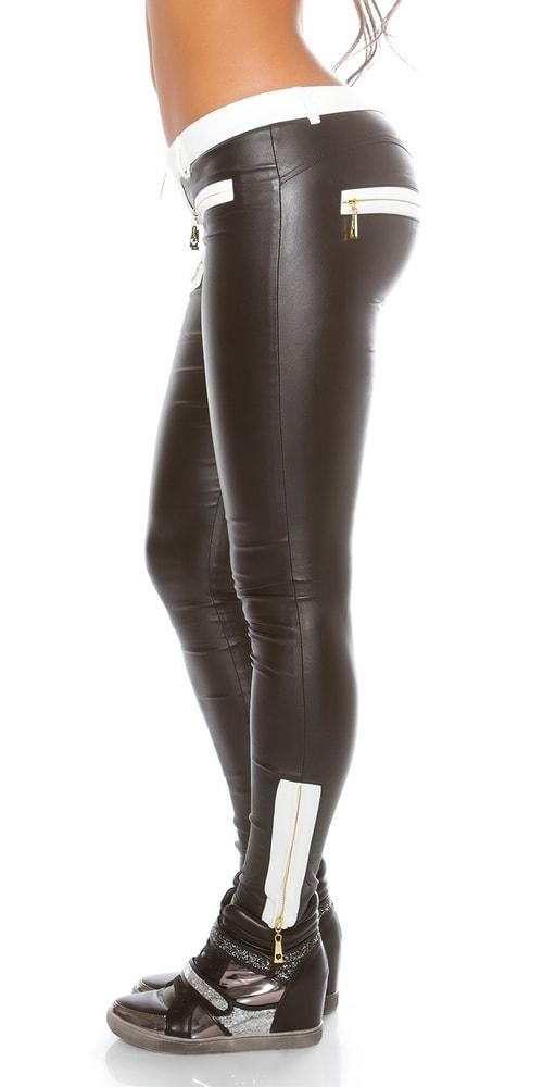 Moderní černé dámské kalhoty - Koucla - Dámské kalhoty - i-moda.cz cf149a9037