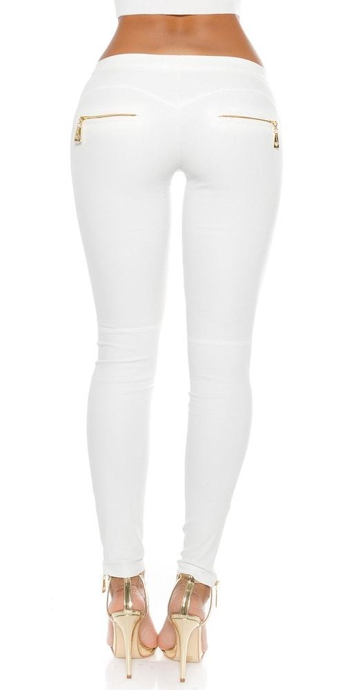 Moderné biele nohavice - Koucla - Dámske nohavice - vasa-moda.sk b1f3be248b