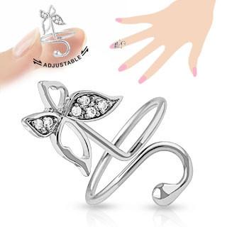 Originálny dámsky prsteň - motýľ EU am-pst005