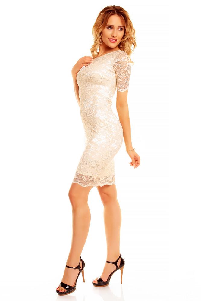 077a5f05dd7 Večerní krajkové šaty - Mayaadi - Večerní šaty a koktejlové šaty - i ...