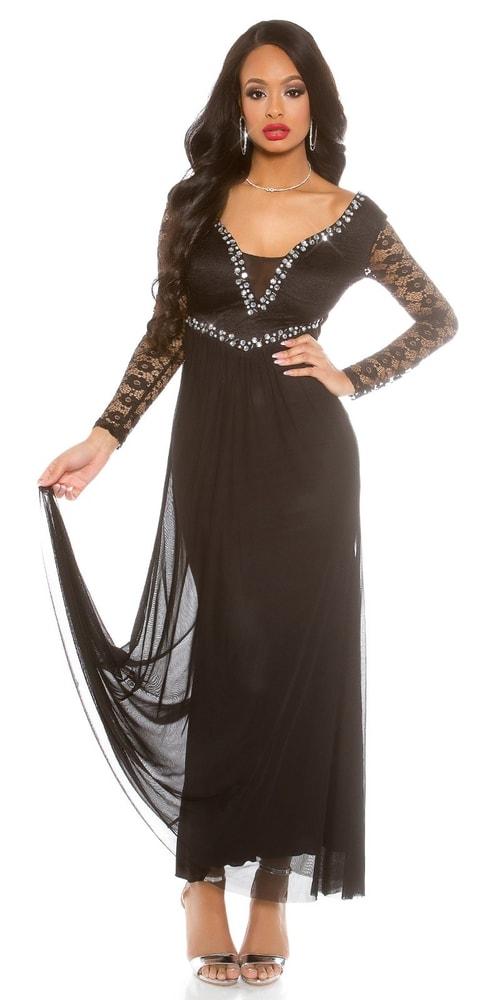 Spoločenské dámske šaty Koucla in-sat1485bl