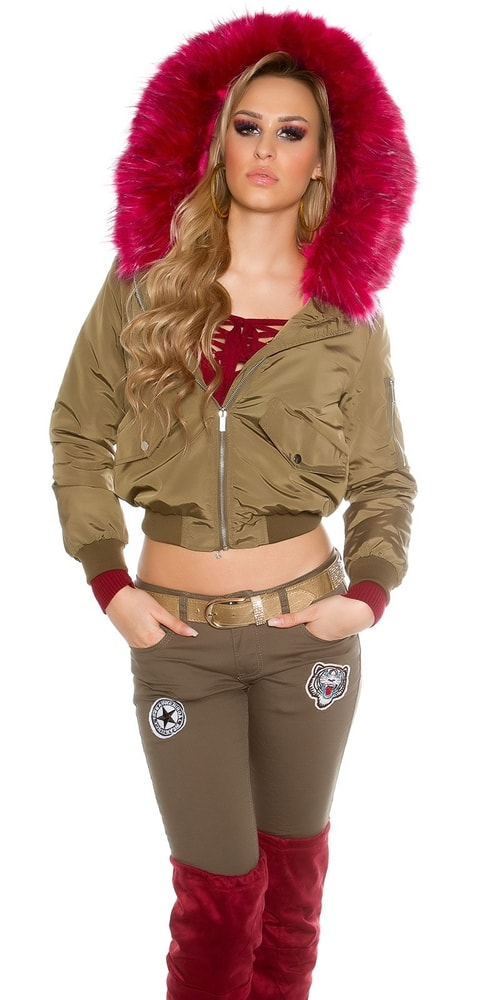 Zimná dámska bunda Koucla in-bu1161tpi