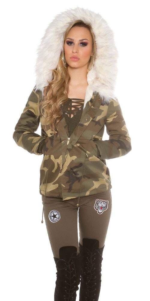 Dámska zimná bunda Koucla in-bu1061wh
