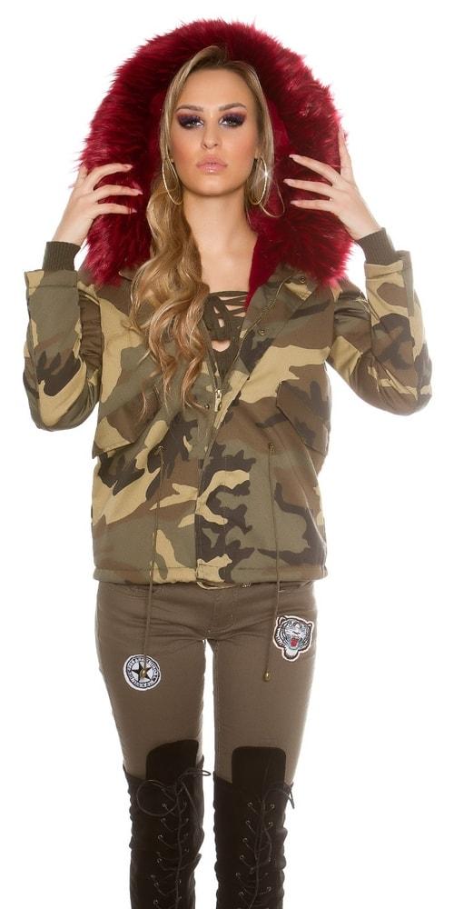 Zimná dámska bunda Koucla in-bu1061bo