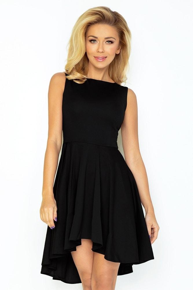 Čierne skater šaty 33-4 Numoco nm-sat33bl 7c82c529ea5
