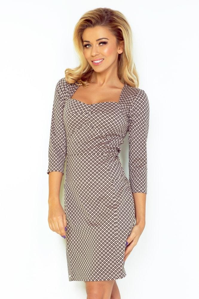 614e8f6261bc Elegantné dámske šaty - M Numoco nm-sat136-2