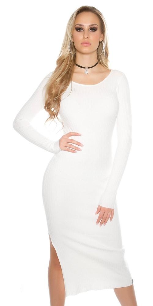 Dlhé pletené šaty - Koucla - Úpletové šaty - vasa-moda.sk 3b50a84367