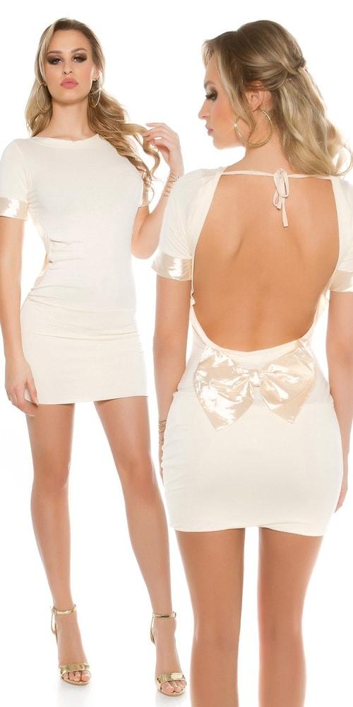 Krátke dámske šaty - Uni Koucla in-sat1437be d63fc14327e