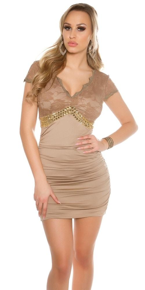 Čipkovaný spoločenské šaty - Koucla - Večerné šaty a koktejlové šaty ... 5c1e65a272f