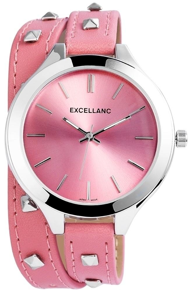Hodinky dámské - růžové - Excellanc - Dámské hodinky - i-moda.cz 934b6aa32d