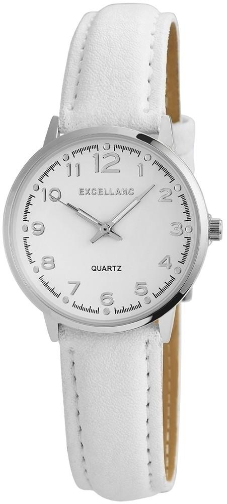 Dámské hodinky v bílé barvě - Excellanc - Dámské hodinky - i-moda.cz 4a877b42c3