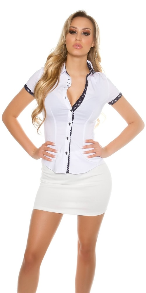 Bílá košile dámská - Koucla - Dámské košile - i-moda.cz 48a4d35148