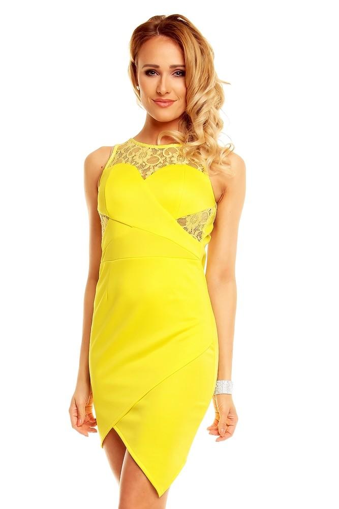 Žluté dámské šaty - Graffith - Večerní šaty a koktejlové šaty - i-moda.cz 9c0d9a746f