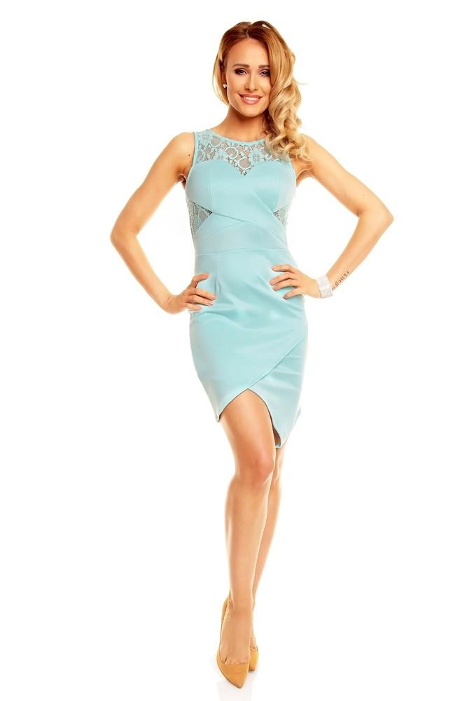 Letní mentolové šaty - EU - Večerní šaty a koktejlové šaty - i-moda.cz 2743fbf12dd