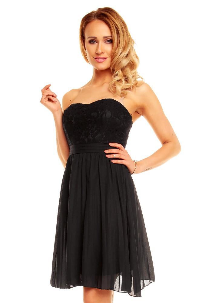 Koktejlové šaty - černé - EU - Večerní šaty a koktejlové šaty - i-moda.cz c42901f8c2