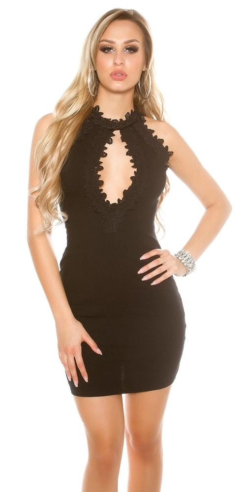 Sexi čierne letné šaty - Koucla - Párty šaty - vasa-moda.sk d99960869a2