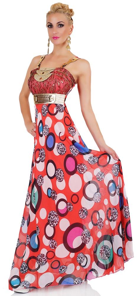Extravagantní dámské šaty - červené - EU - Večerní šaty a koktejlové ... e126e89529