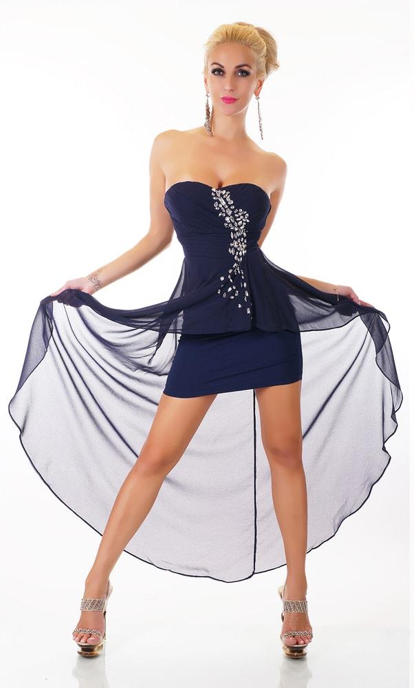 Spoločenské dámske šaty - EU - Krátke plesové šaty - vasa-moda.sk 9c61d6c0c5