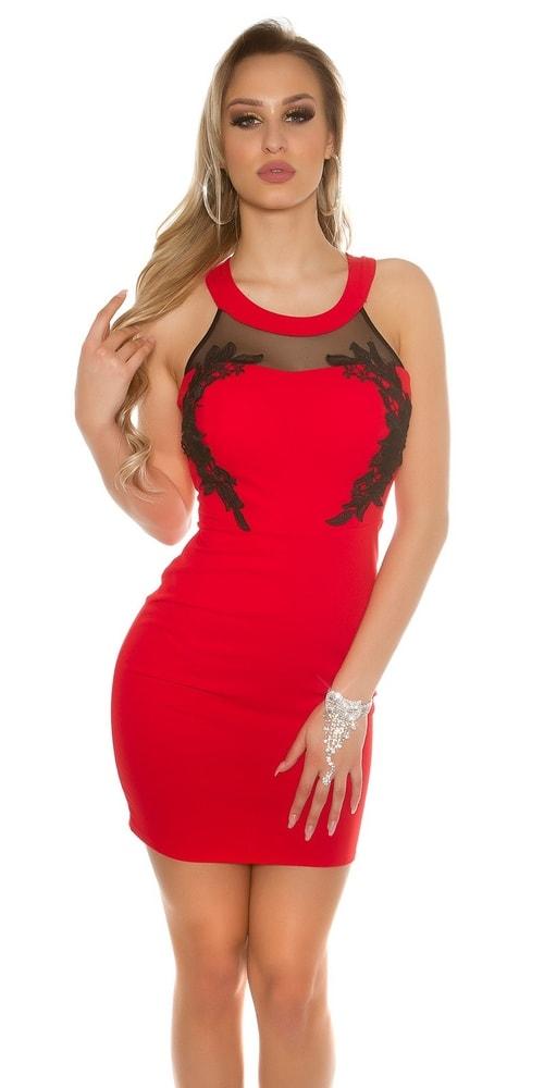 Dámske červené elegantné šaty - Koucla - Večerné šaty a koktejlové ... 0e999a07d3e