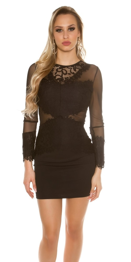 b37f07453453 Dámske čipkované šaty - Koucla - Večerné šaty a koktejlové šaty ...