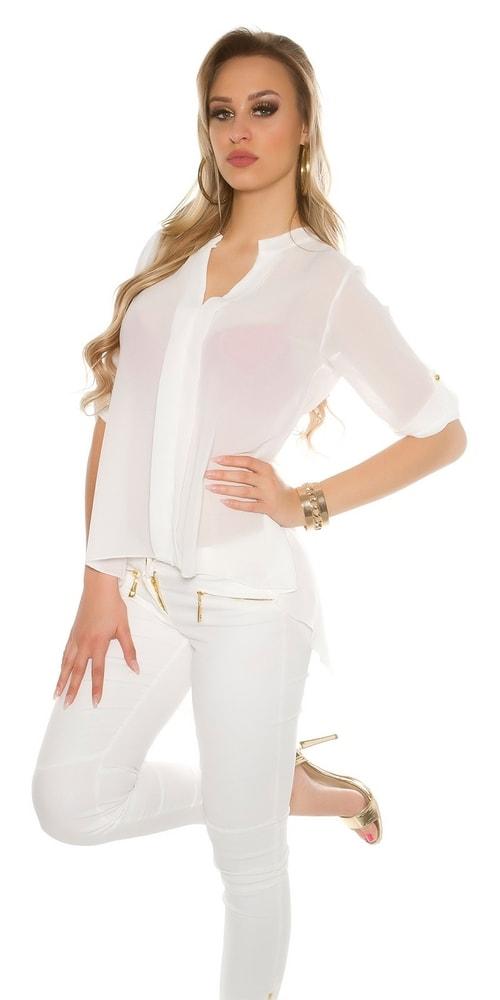 Biela dámska blúzka - Koucla - Dámske blúzky - vasa-moda.sk aee05387dbb