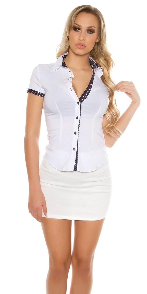 dd0139c11f0 Bílá košile dámská - II. jakost - Koucla - Výprodej oblečení II. jakost - i  ...