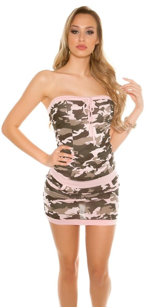 Letní army šaty - Koucla - Krátké letní šaty - i-moda.cz 0371a12983
