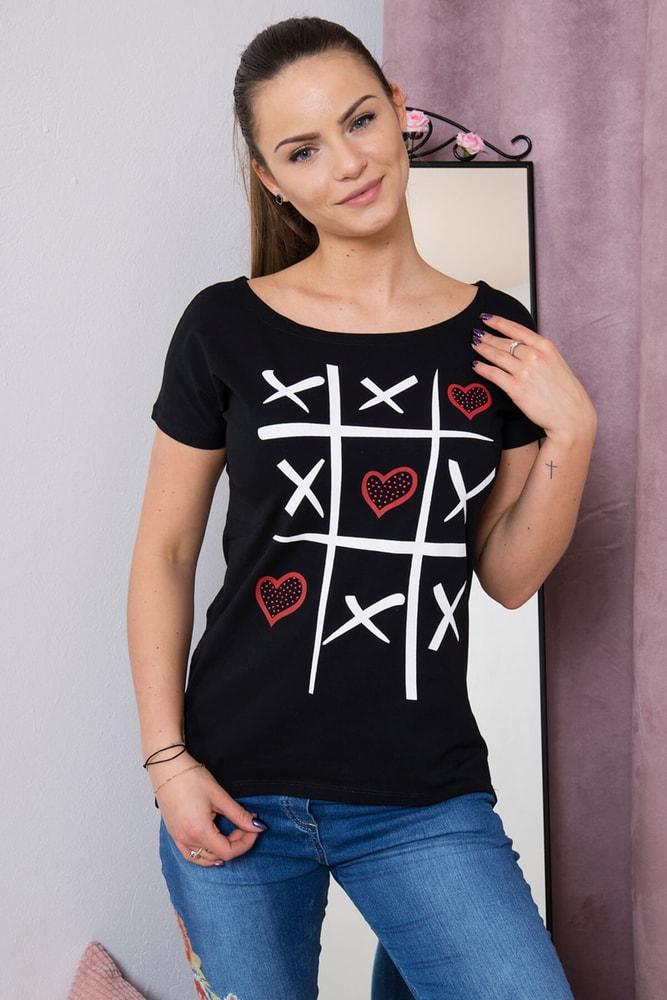 Dámske tričká Kesi ks-tr51798bl