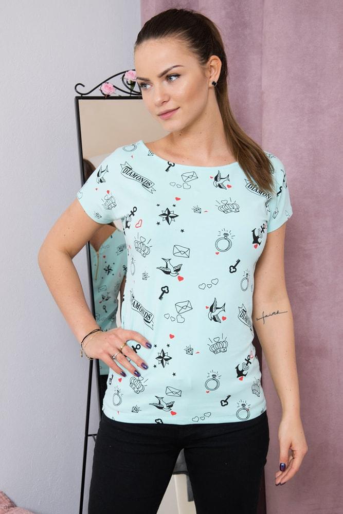 Dámska trička Kesi ks-tr8027mi