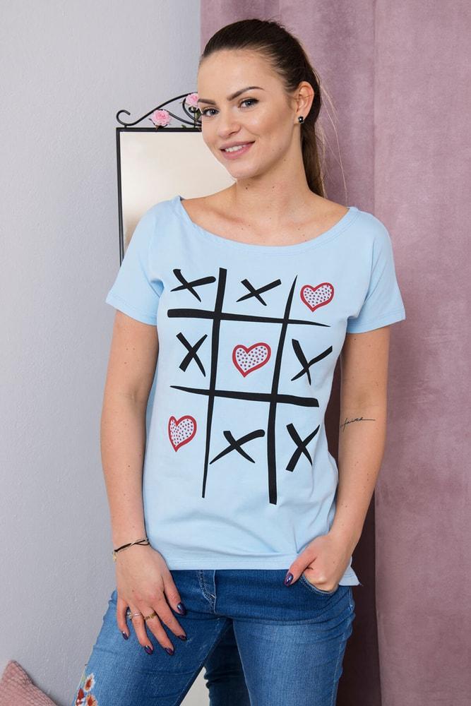 Dámske tričká Kesi ks-tr51798smo