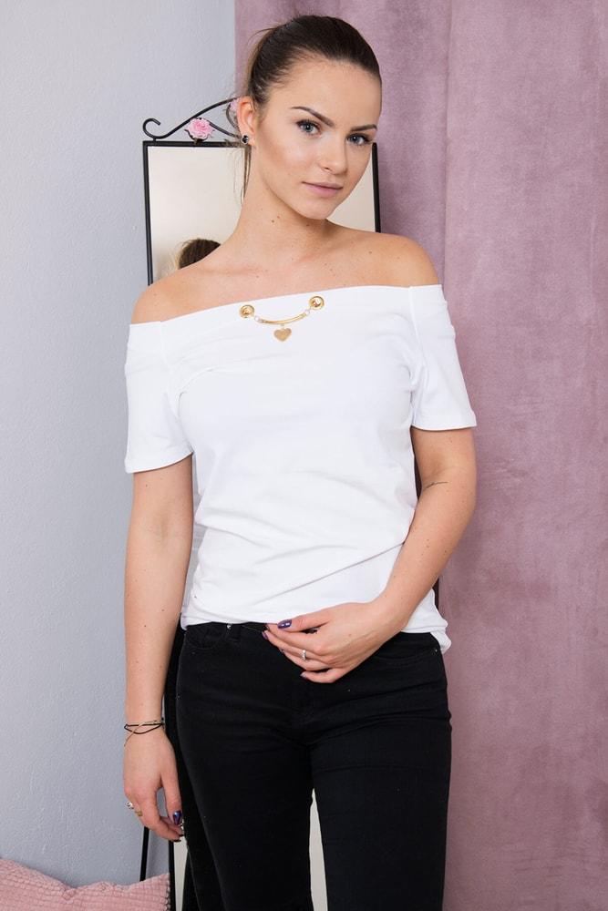 Dámské elegantní tričko - Kesi - Dámská trička - i-moda.cz f30c61d700