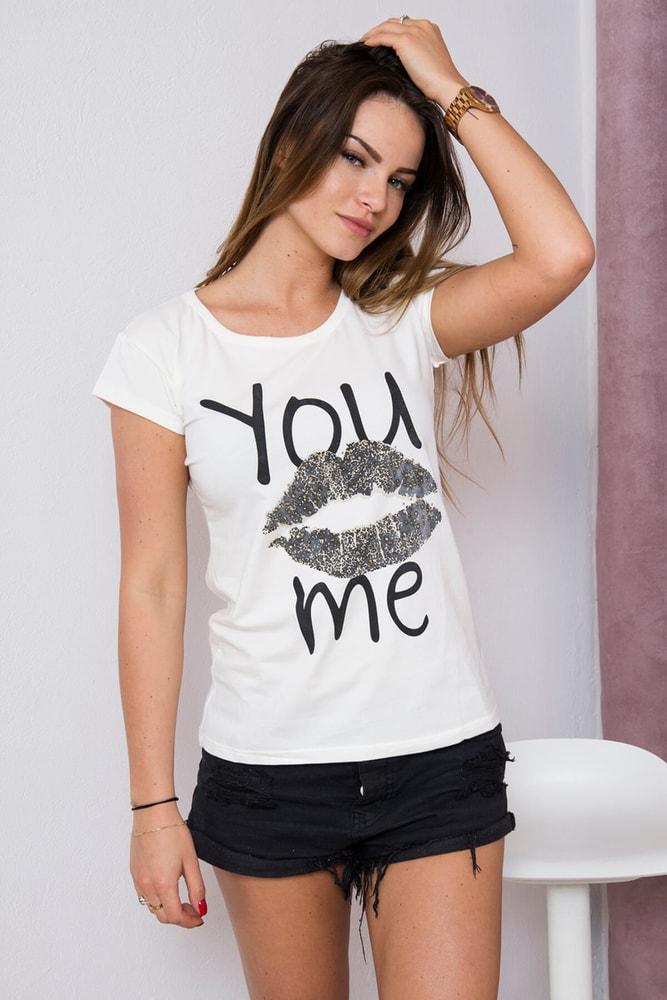 Dámské tričko Kiss - Uni Kesi ks-tr3852cr 7ab1bd45a8