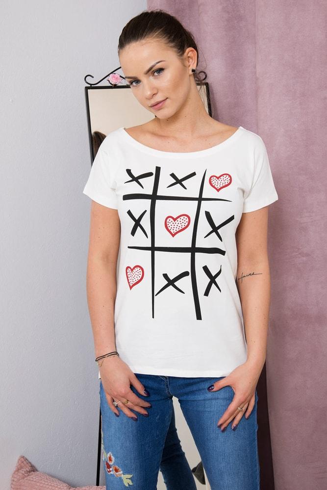 Dámske tričká Kesi ks-tr51798cr