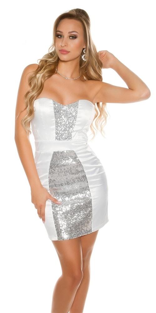 Sexy krátké šaty Koucla in-sat1566wh 77b247a609