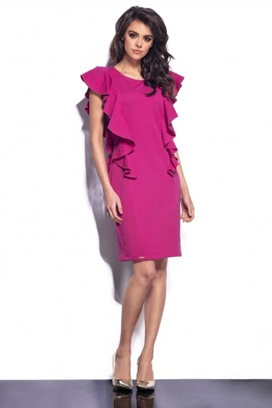 Dámske šaty s volánmi - Lemoniade - Business šaty - vasa-moda.sk 9c2639d57cb