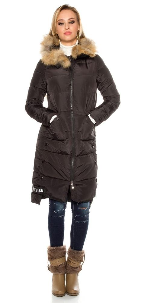 Zimní kabát dámský - Koucla - Dámské kabáty zimní - i-moda.cz 2bdabd4dc12