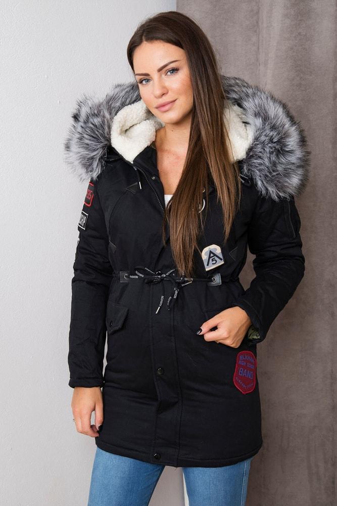 Zimná dámska bunda s kapucňou - Kesi - Bundy dámske zimné - vasa ... 76737292ebe