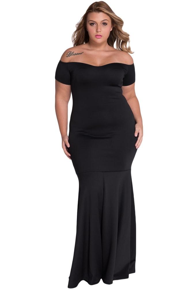 Plesové šaty pro plnoštíhlé - DAMSON - Společenské šaty pro ... 4bbf0d433f