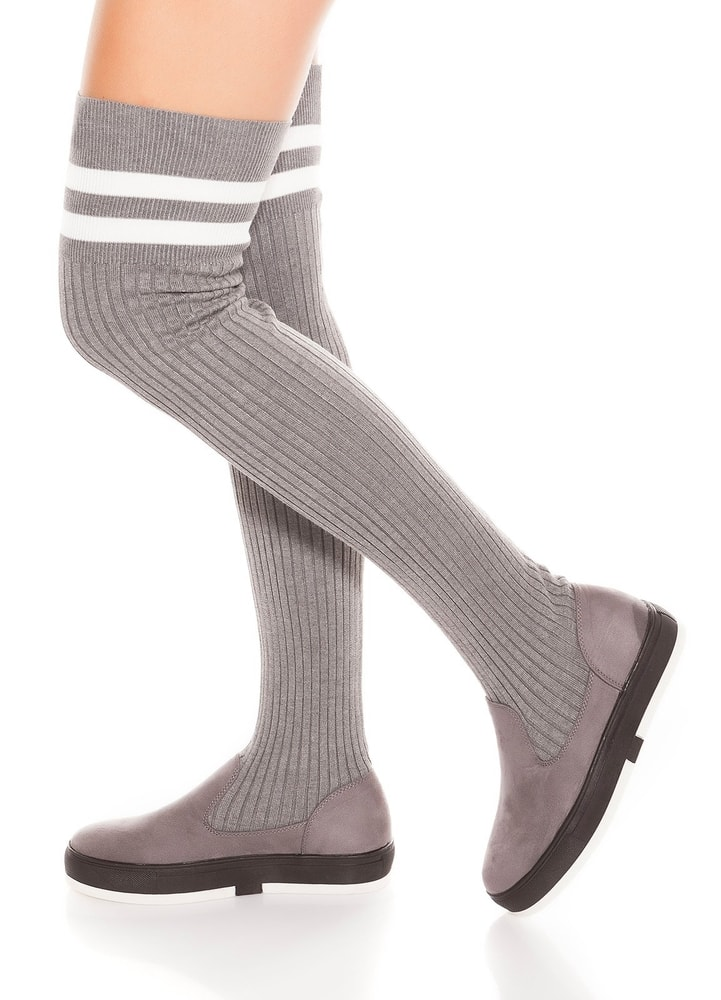 Sneakers dámske s návlekmi - 41 Koucla in-ob1034gr