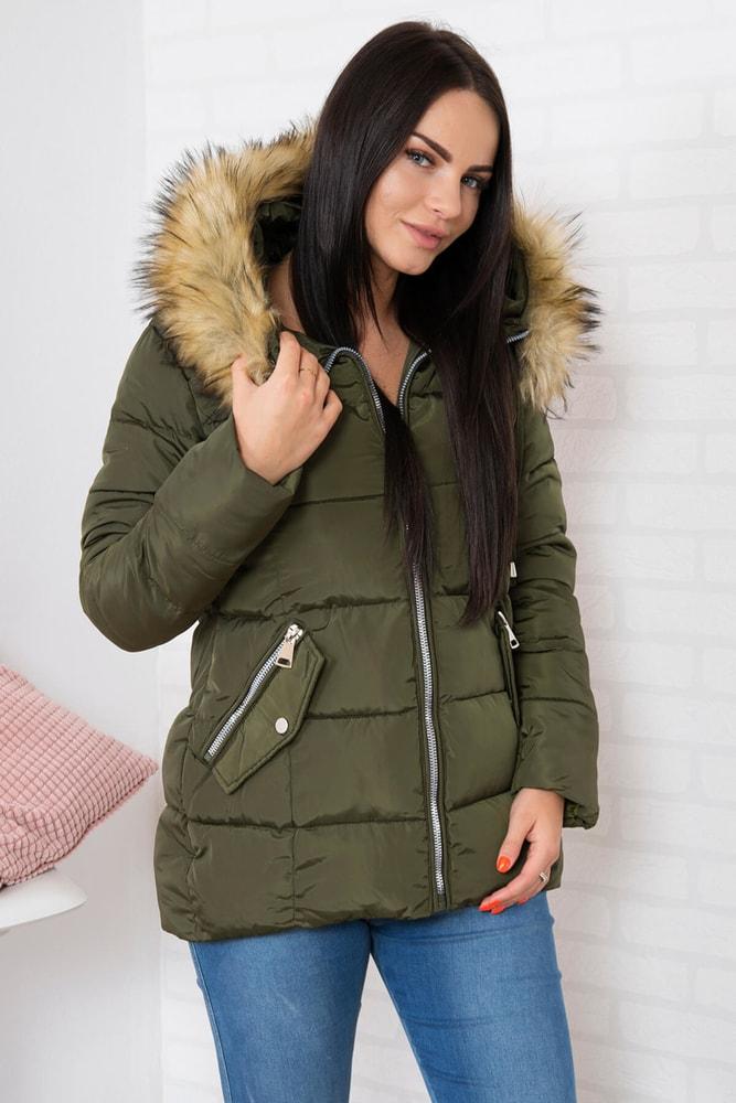 Zimná dámska bunda - Kesi - Bundy dámske zimné - vasa-moda.sk eeb5e764795