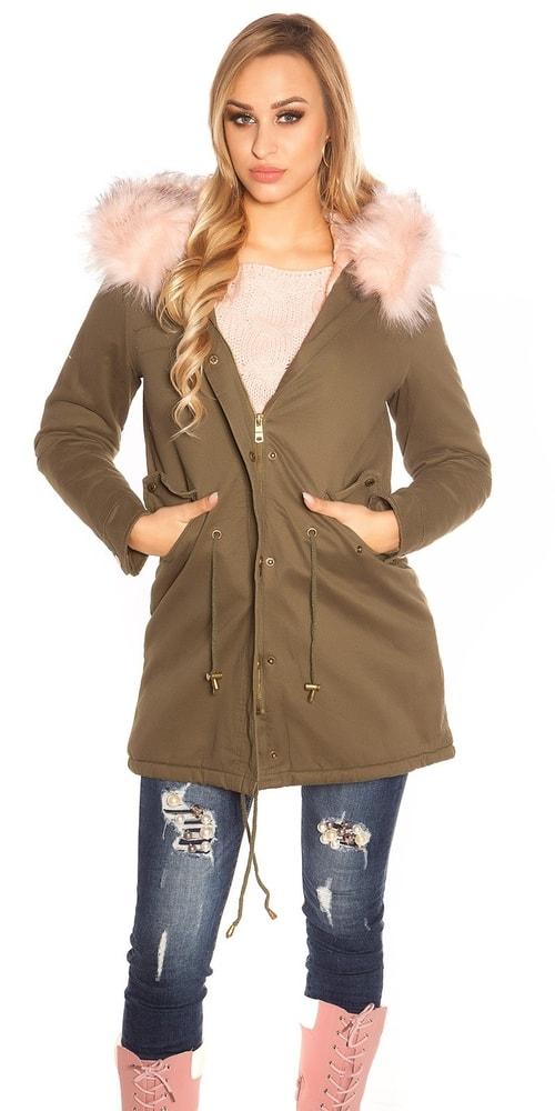 Dámska zimná bunda Koucla in-bu1096spi