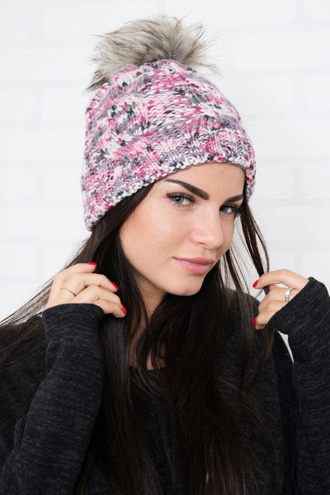 Zimná pletená čiapka Kesi ks-ce106tpi