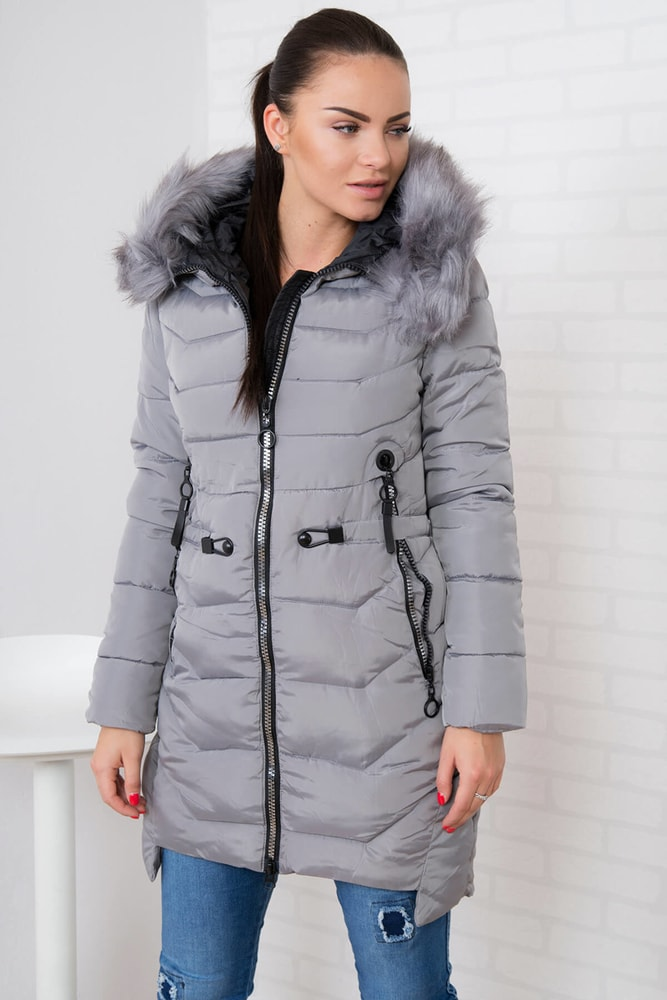 Dámska zimná bunda Kesi ks-bu8858sg