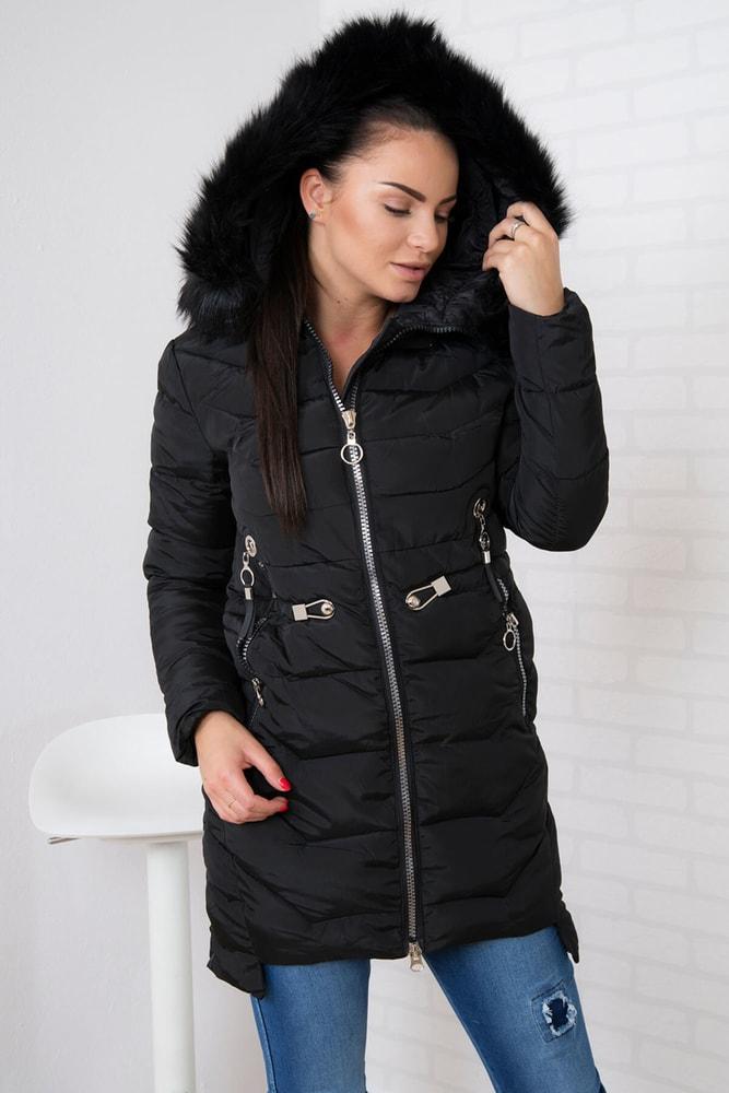 Zimná dámska bunda Kesi ks-bu8858bl