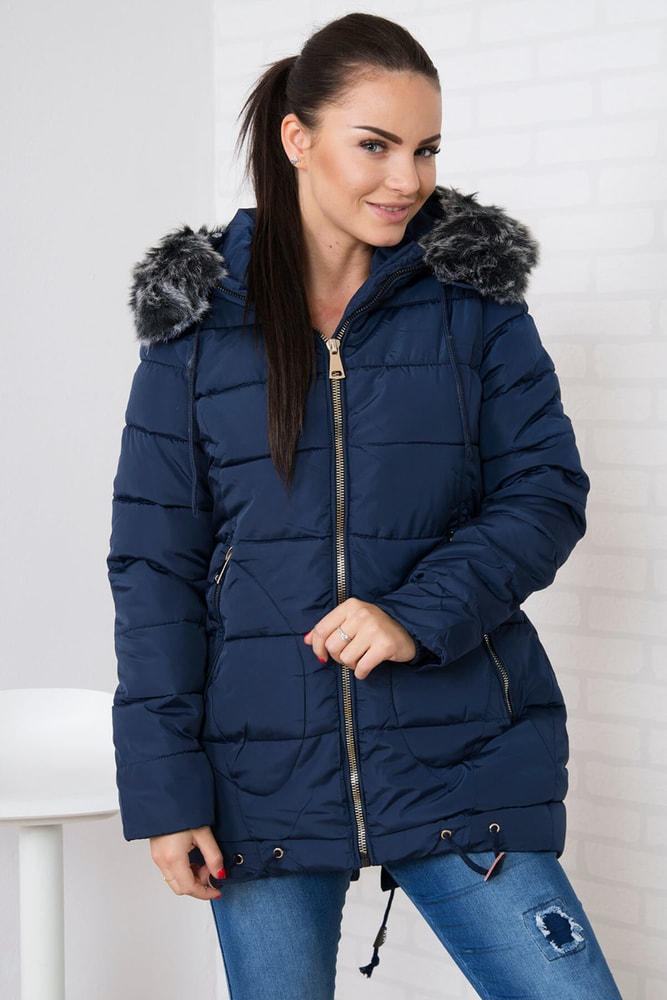 Dámska zimná bunda Kesi ks-bu058tmo