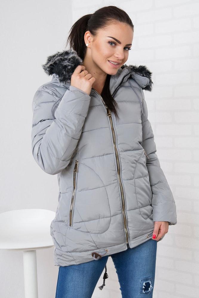 Zimná dámska bunda Kesi ks-bu058sgr